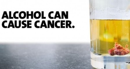 Alcohol can cause cancer